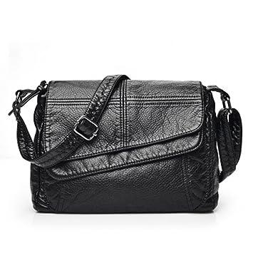 7a8b433579eb6 GMYANDJB berühmte Marke Mode Weiche Leder Umhängetaschen Weibliche  Crossbody Tasche Portable Frauen Messenger Bag Tote Damen