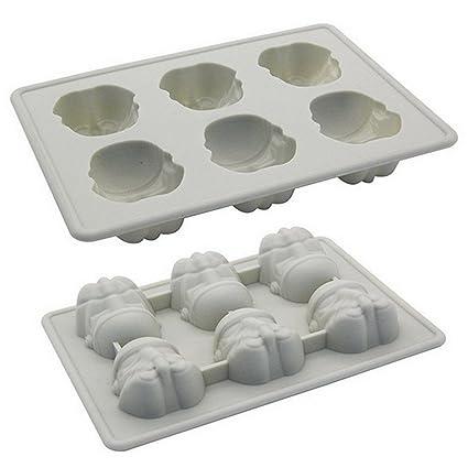 Molde figuras Soldado Asalto chocolate gominola cubitos hielo jelly ideal fiestas de cumpleaños - Level25