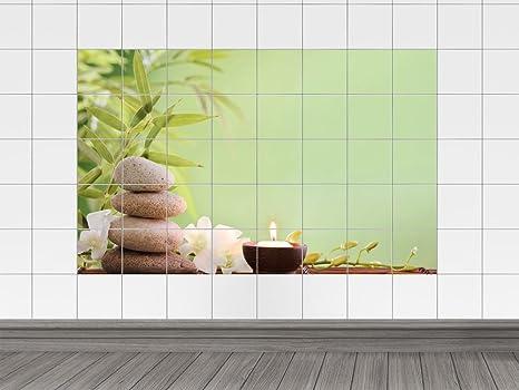 Graz design adesivo da parete piastrellata per bagno motivo