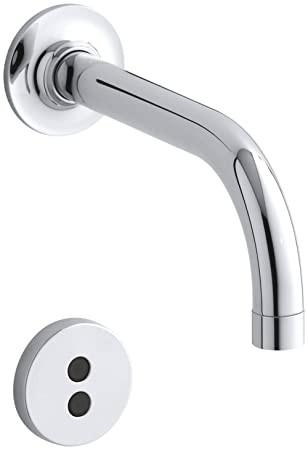Kohler K T11841 Cp Purist Wall Mount Faucet Trim With 6 Spout