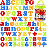 Magnetic Letters and Numbers for Kids Educational Alphabet Refrigerator Magnets 78 Pieces