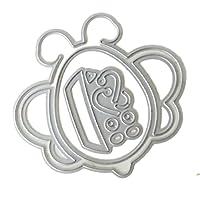 Homyl Metall DIY Stanzformen Schablone Stanzmaschine Prägeschablonen Stanzschablone für Kinder Geschenk