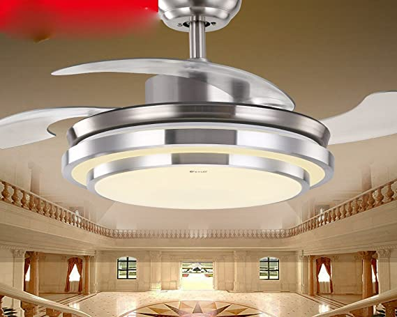 Sdkky invisibile deckenventilator semplice e moderno lampadario