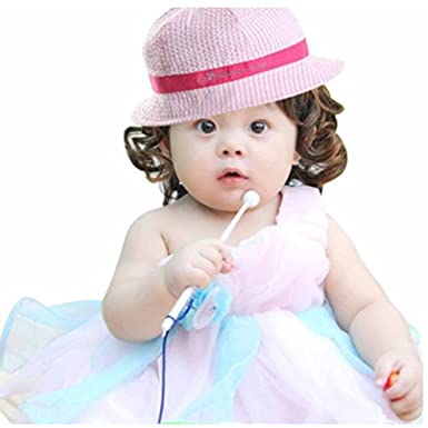 823e6a0c WENDYWU Baby & Toddler Flap Sun Protection Swim Summer Hat Baby Sun Hat - -