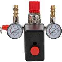Luchtcompressor Schakelaar, 90-125PSI Luchtcompressor Drukschakelaar Regelklep voor Bama Beugel, Drukregelaar Regulator…