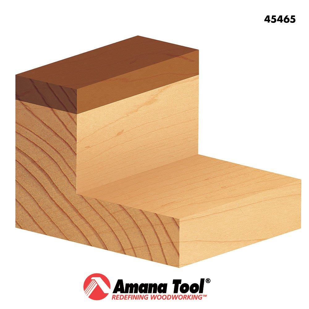 45465 Carbide Tipped Flush Trim Plunge Template 3//4 Dia x 1-3//4 x 1//2 Sh Amana Tool