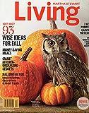 Martha Stewart Living Magazine October 2014 {Get in the Halloween Spirit}