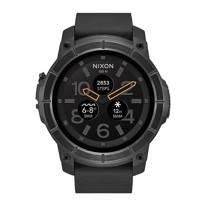 Amazon.com: Nixon Misión A1167 – 001 SmartWatch Reloj ...