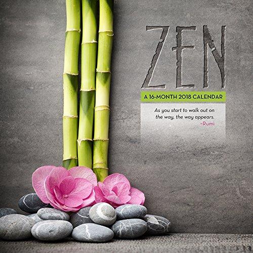Zen 2018 Wall Calendar