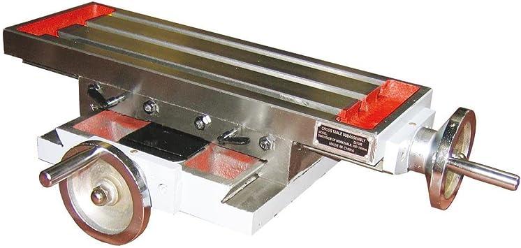 Mesa de coordenadas ZX7020 Holzmann mesa cruzada para taladro ...