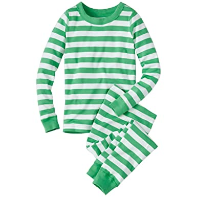 hanna andersson little boy kids long john pajamas in organic cotton size 90 3t