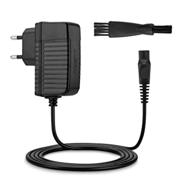 Aukru Cargador Philips de 15V para afeitadora eléctrica Grooming Kit/Multigroom/Multigroom Pro Trimmer QG3200 QG3300 Series (Bodygroom 3100, ...