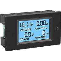 KETOTEK Ampèremeter Voltmeter Vermogenstester Energie Meter Digitaal DC 6.5-100V 100A Volt Amp Multimeter LCD…