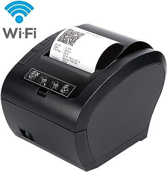 MUNBYN Impresora de Ticket Térmica WiFi Inalámbrica, Ticketera de ...
