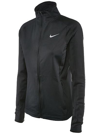 c2b9503959dd Nike Womens Dri-FIT Thermal Full Zip Running Jacket Black 685935 010 (xs)
