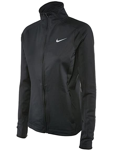 67b25142091d Nike Women s Dri-FIT Thermal Full Zip Running Jacket Black 685935 010 ...