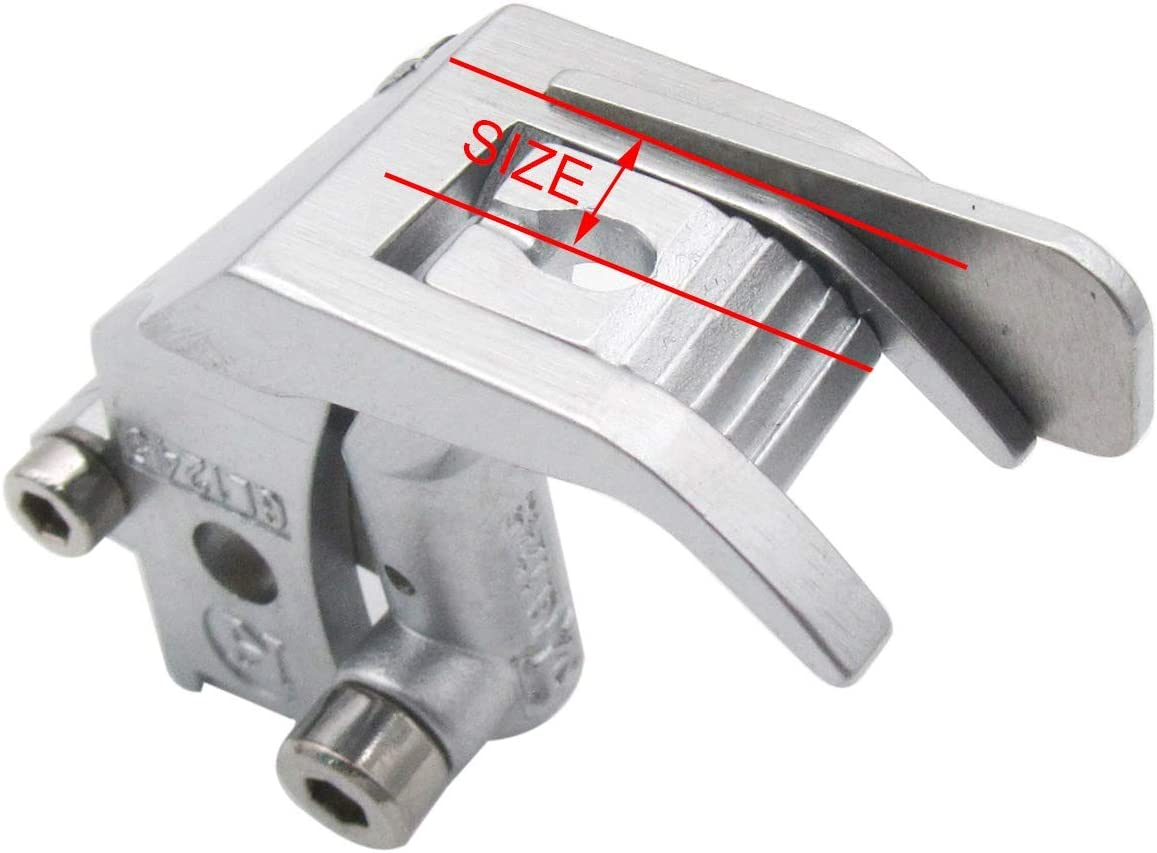Left /&Right Side-3MM Left and Right Side Spring Edge Guide Foot Fit for Pfaff 145 335 545 1245 CKPSMS Brand