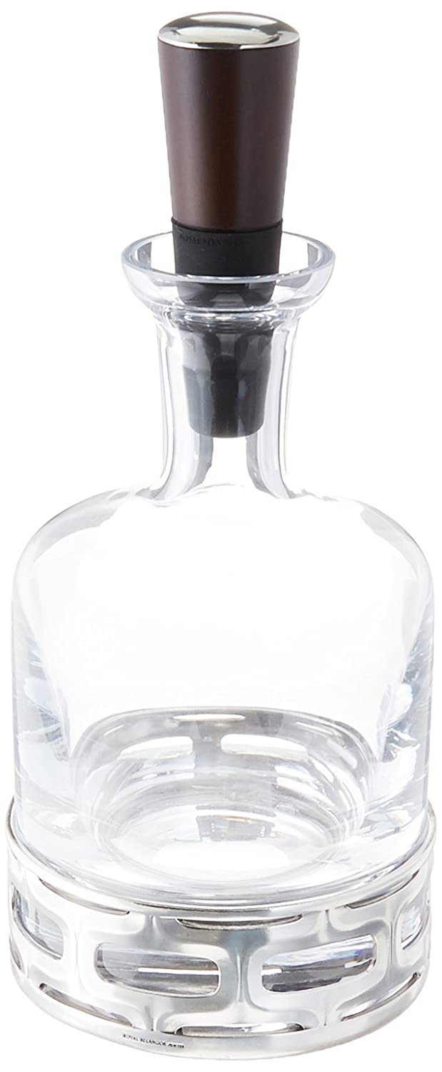 Royal Selangor 014199R Cell Whiskey & Spirits Decanter, 25 oz, Pewter