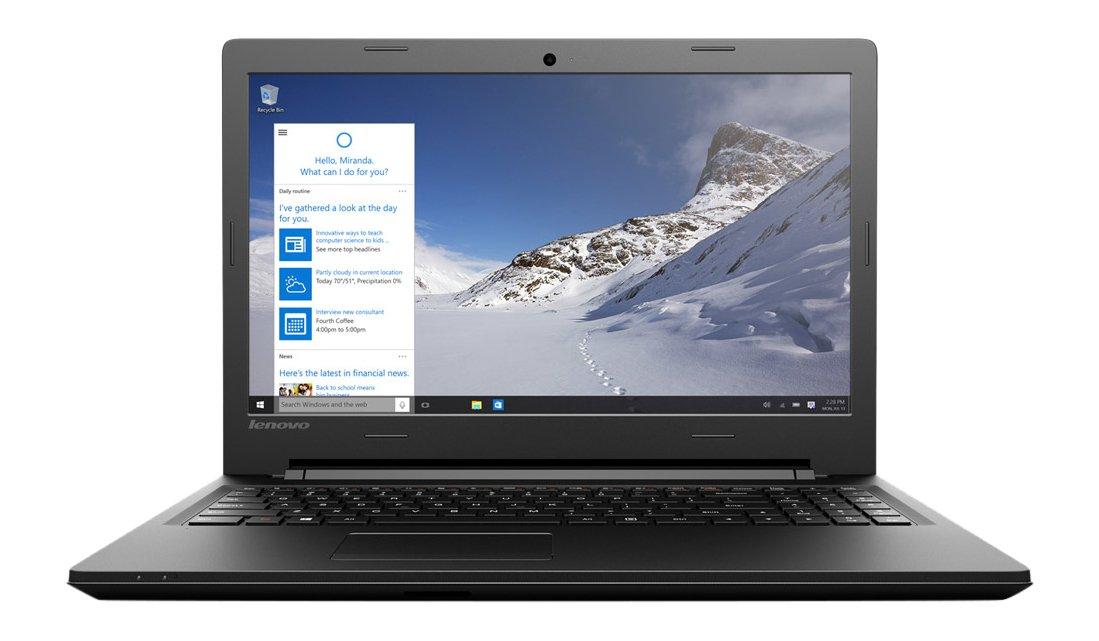 Lenovo Essential B50-50 - Ordenador portátil Intel Core i3, 4 GB RAM, 500 GB HDD - Teclado QWERTY español