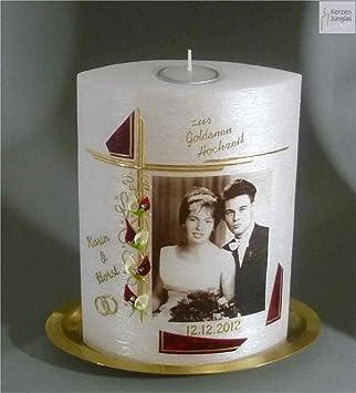 Amazon De Kerze Ovalform 22 15 Cm Mit Teelichteinsatz 7017 Zur