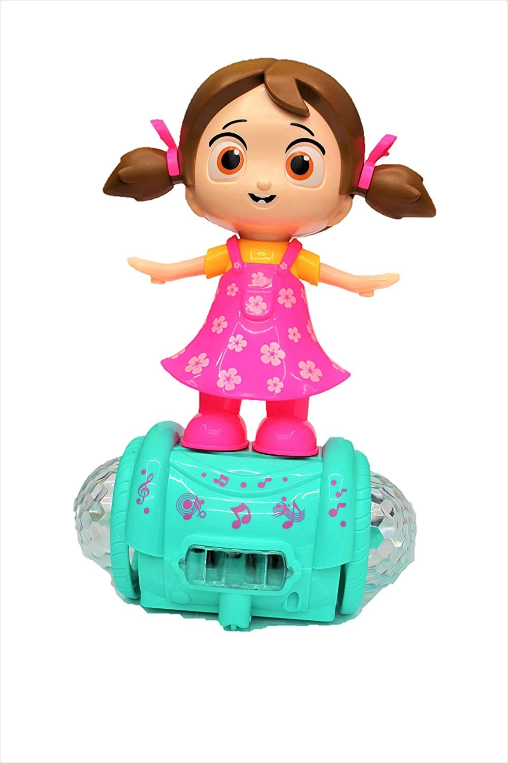 Wirescorts 360 degree rotating musical dancing girl toy for ₹449