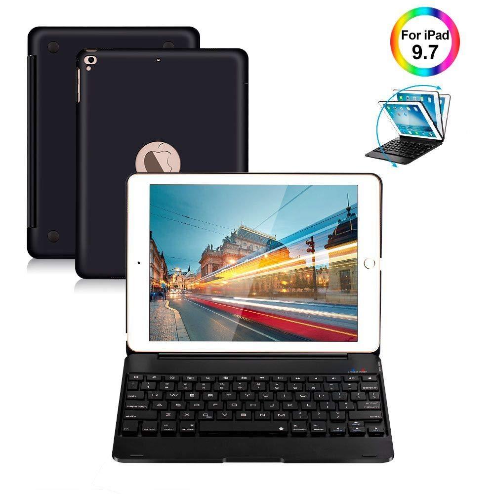 Funda Con Teclado Para iPad Pro 9.7 iPad / Air 2 Y 1 Wireles