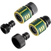 Melnor 65027-AMZ QuickConnect 4pc Set, Gray, Yellow