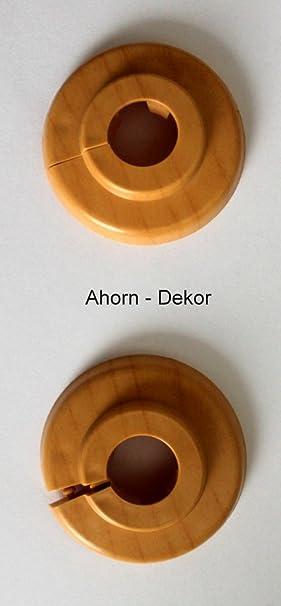Único de rosetones para tubos de calefacción, protectora para tubos de calefacción, calefacción, 2 unidades, ...