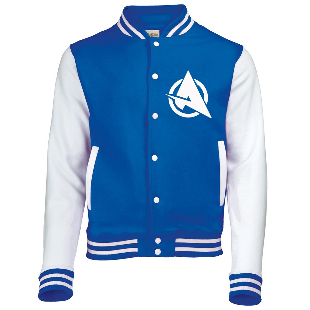AWDis Ali A Varsity Jacket Unisex Various Sizes American Baseball Letterman