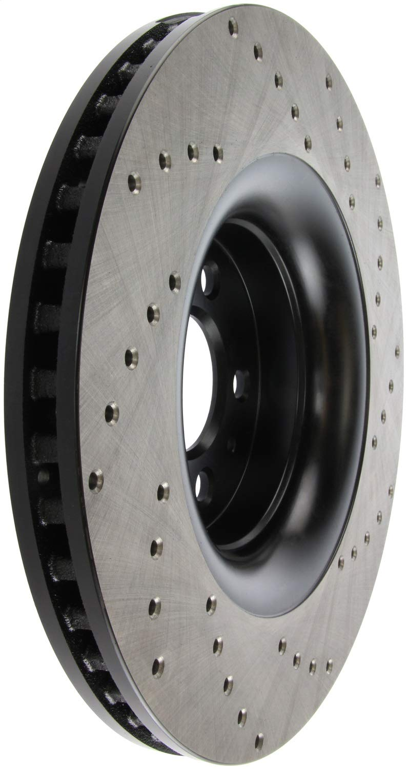 StopTech 128.61114R Sport Drilled Rotor Right