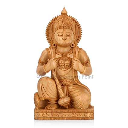 Antiques Hearty Wooden Indian Idols Other Asian Antiques