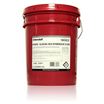 Kendall HYKEN GLACIAL BLU Hydraulic Fluid - 5 gal  pail