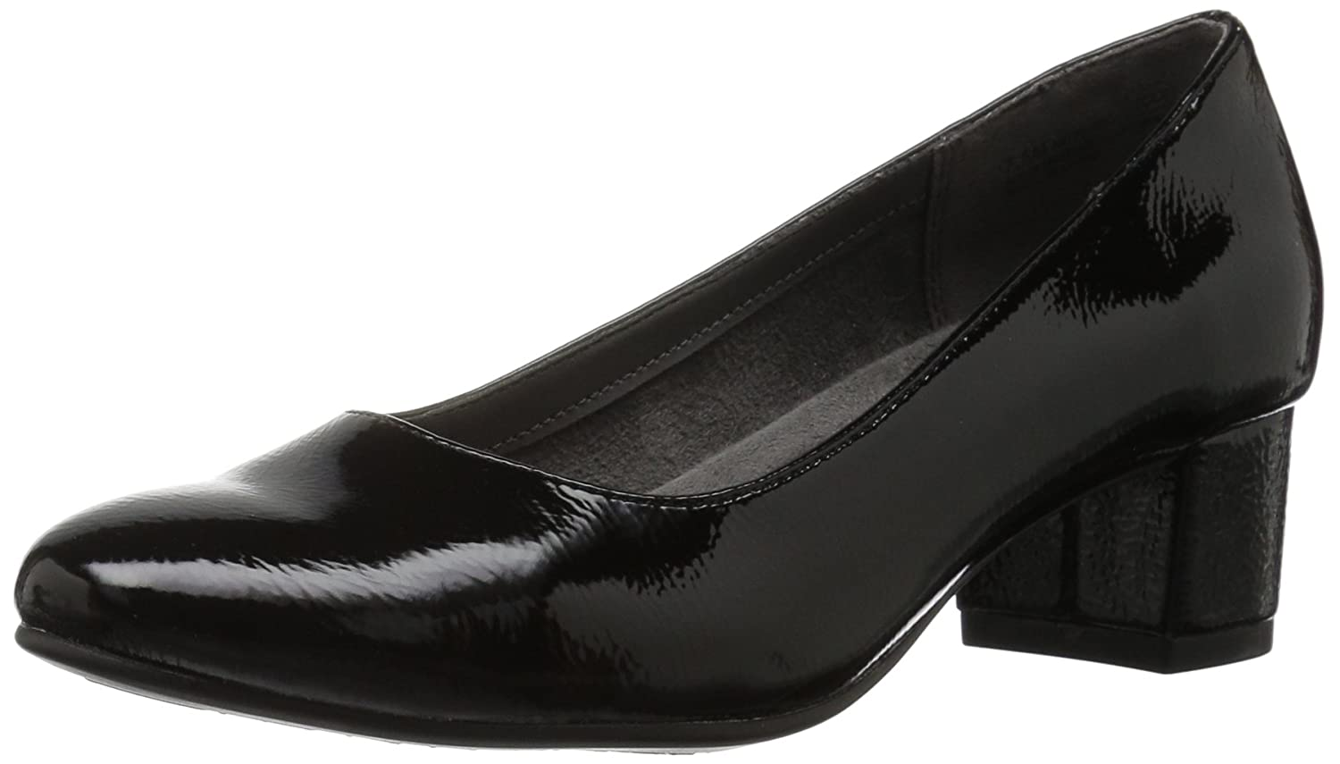 Aerosoles A2 by Women's Notepad Dress Pump B06Y3XGWFG 6.5 B(M) US|Black Patent