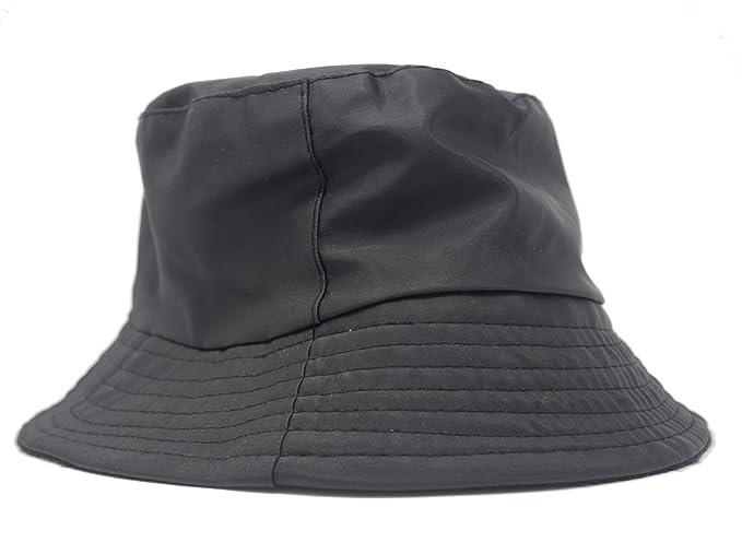 Sombrero impermeable mate para la lluvia da873b153bd4