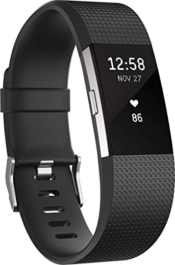 Fitbit Charge 2 Fitness Wristband, Heart Rate monitor