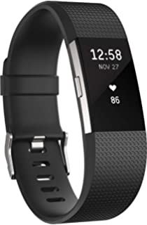 Amazon.com: Fitbit Charge 2 Heart Rate + Fitness Wristband ...
