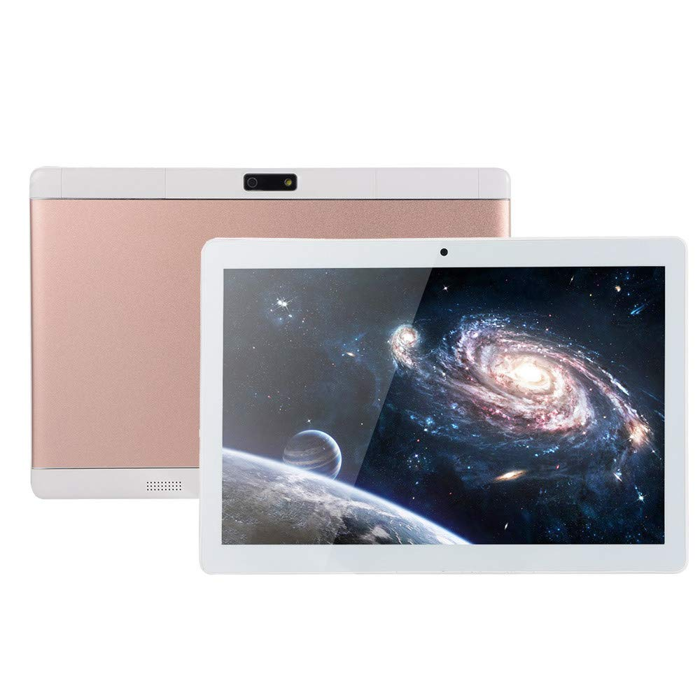 Choosebuy❤️ 10.1 inch Android Tablet, 1+16G Android 4.4 Dual Sim Dual HD Camera WiFi 3G Tablet PC (Rose Gold)