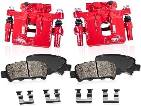 Rear Red Coated Brake Caliper For 2011-2017 Durango Grand Cherokee