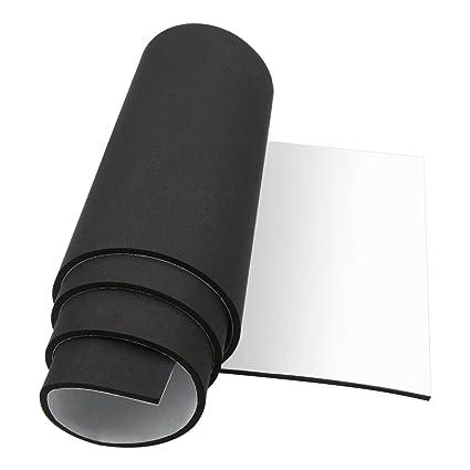 Foam Padding Roll >> Foam Insulation Foam Padding Roll Self Adhesive Weather Stripping Non Slip Neoprene Rubber Sheet Mat 1 4 Inch Thick X 12 Inch Wide X 59 Inch Long