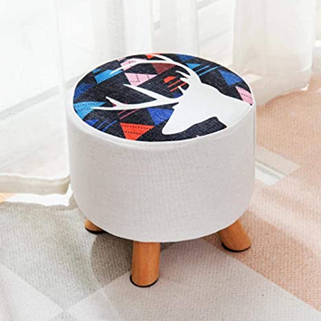 Fine Amazon Com Lin Rlp Solid Wood Small Stool Square Stool Andrewgaddart Wooden Chair Designs For Living Room Andrewgaddartcom