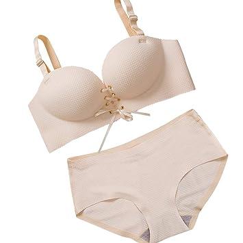 Women/'s Bras Seamless Underwear Bra Push Up Bralette Wire Free Strap Brassie X