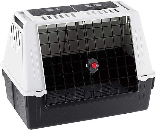 Comprar Ferplast Transportín para Perros para automóvil Atlas Car 80, Rejillas de ventilación, Compartimentos portaobjetos, Alfombrilla de Drenaje