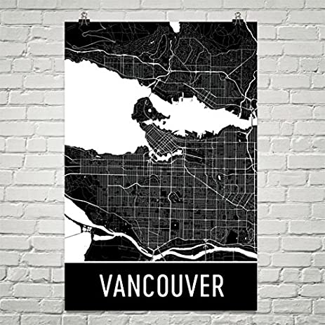 Amazon vancouver poster vancouver art print vancouver wall vancouver poster vancouver art print vancouver wall art vancouver map vancouver city gumiabroncs Image collections
