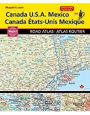 Canada USA Mexico Road Atlas
