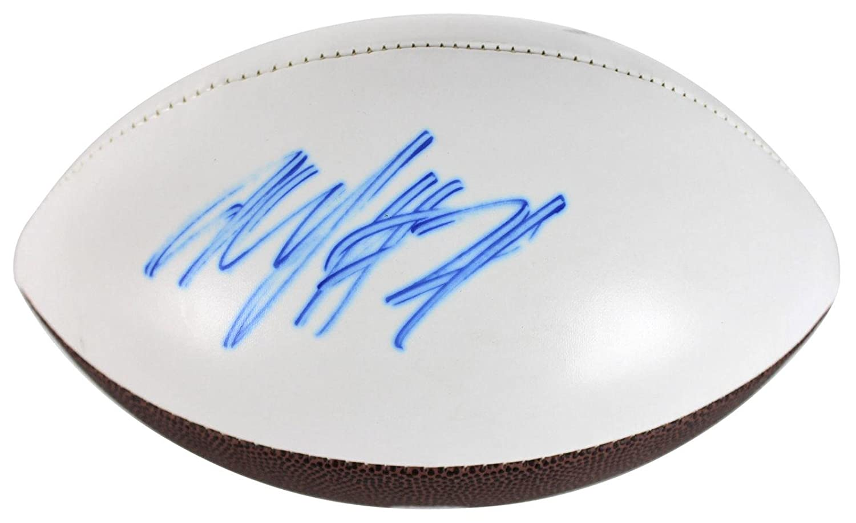 Signed Marshawn Lynch Ball - White Panel Logo Fanatics COA #FA003278 - Fanatics Authentic Certified - Autographed Footballs