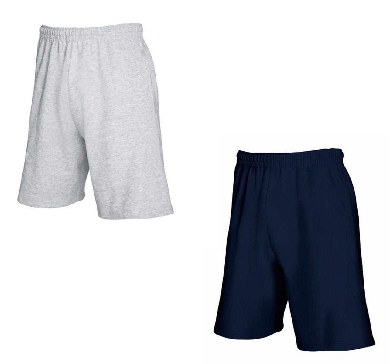 2er-Pack Fruit of The Loom Herren Kurze Sporthosen Jogginghosen Lightweight  Shorts: Amazon.de: Bekleidung