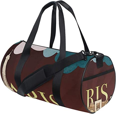 Sports Bag Palm Tree And Pineapple Sugar Cookies Mens Duffle Luggage Travel Bags Womens Lightweight Gym bag