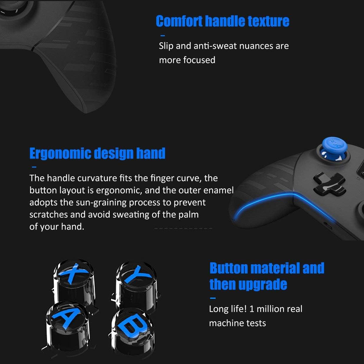 Sairis FlyDigi X8 Pro 2.4Ghz Wireless Controller Wireless Gamepad for Android//iOS