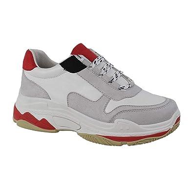 17b586456b36 Yoki Womens Fashion Chunky Heavy Triple Sole Tubuler Trendy Dad Sneaker  Trainers