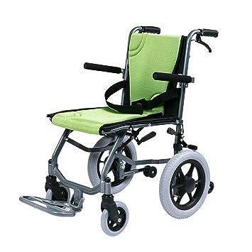 Silla de ruedas Plegable Ligero Autopropulsada, Manual, Aluminio, Portátil: Amazon.es: Hogar